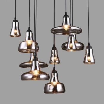 Nórdico lineal Lámparas colgantes hanglamp moderno luminaria ...