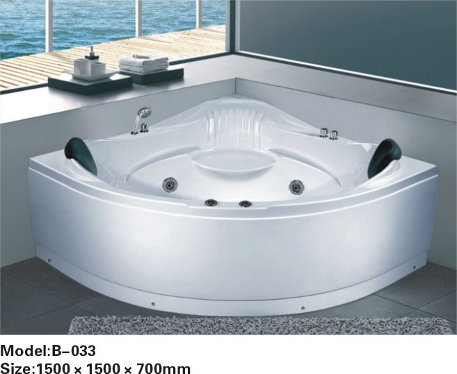 luxury whirlpool massage bathtub price with TV option