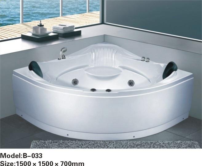 luxury whirlpool massage bathtub price with tv option