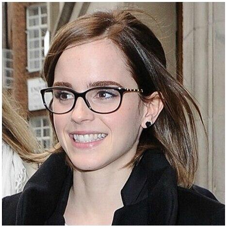 new arrival design plain eye glasses men women optical computer glasses myopia eyeglasses frame 6pcs