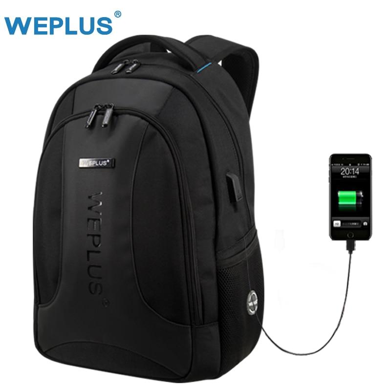 Multifunction USB charging Male Mochilas 15.6