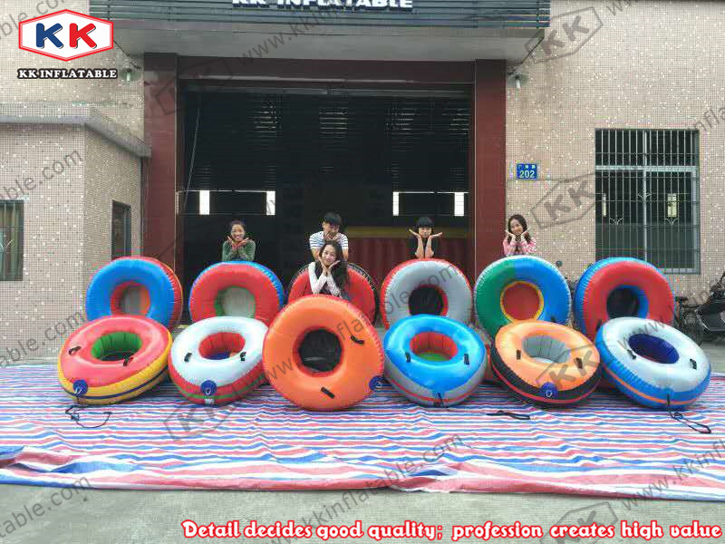 inflatable circle toys for snow outdoor toys inflatable circle round boats ...