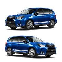 World Datong sport car sticker For Subaru Outback XV Mark Levinson Exterior Side door Decal Car Vinyl Film 1 Pair