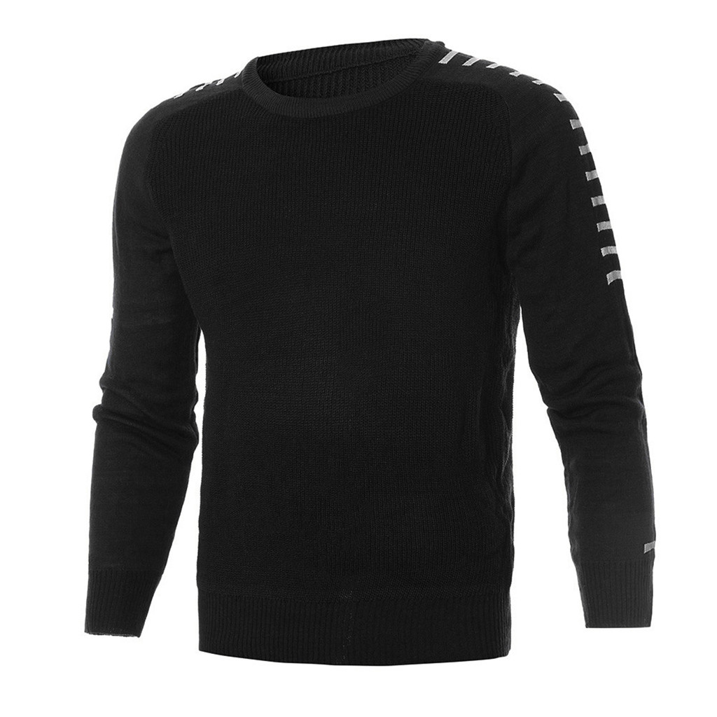 Men Sweaters Winter Long Sleeve Solid Knitted Sweater Pullover Tops Blouse Shirt Sueter Invierno Hombre Men's Sweaters Hot Sales