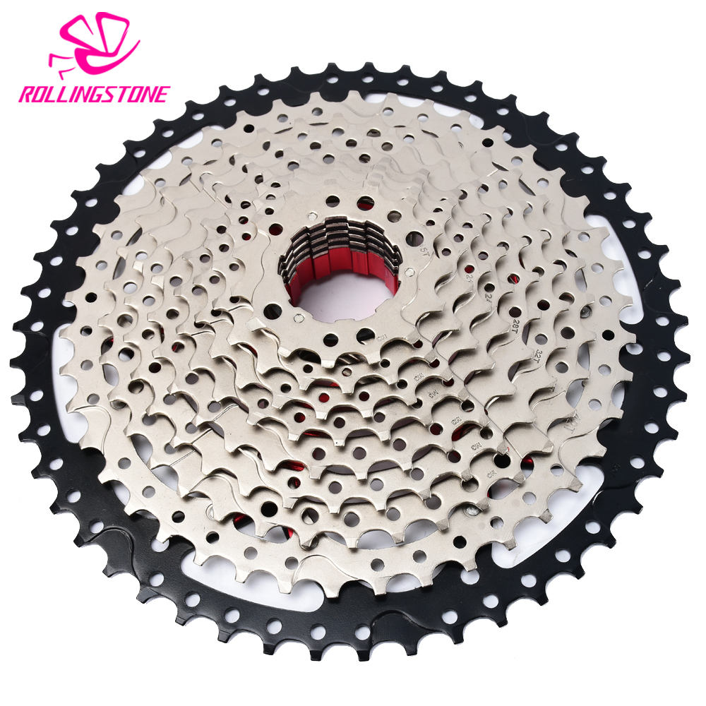 SWTXO cassette 11 speed mtb 11-50T red cog 50T 11 velocidade bicycle freewheel sprockets bike 609g mountain bike free wheel bike freewheel 11 50t 11 speed mtb bike cassette mountain bicycle freewheel wide ratio csmx sprockets