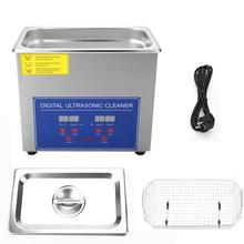 3L ultrasonic Cleaner Digital Ultra Sonic Cleaner Bath Timer Stainless Sonic Clean Machine Sonic Cleaner for Home Industry Lab