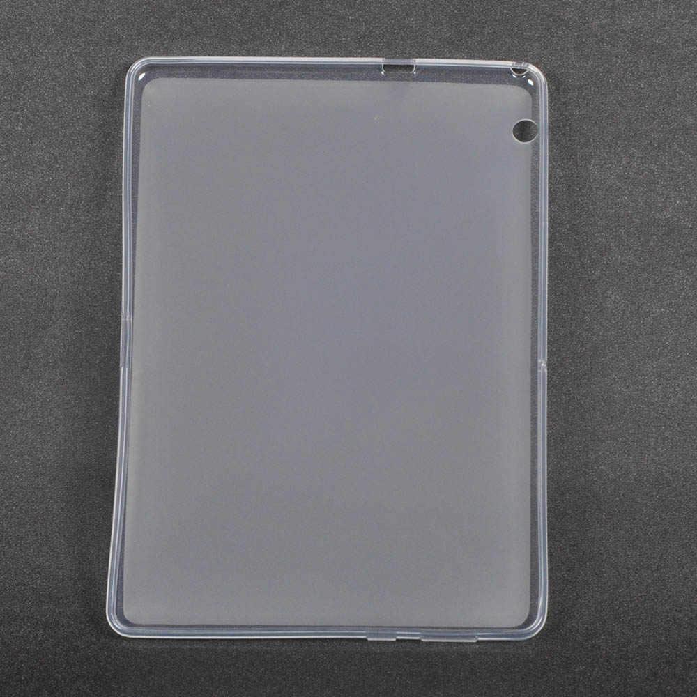 حافظة لهاتف هواوي ميديا باد T3 10 غطاء لين من البلاستيك المطاطي لهواتف هواوي T3 10 AGS-WO9 AGS-L09 شاشة 9.6 بوصة + قلم ستايلس