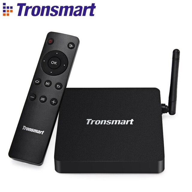 Tronsmart Vega S95X Android 6.0 Marshmallow TV Box Amlogic S905X Quad Core 1.5GHz 2G/8G 802.11b/g/n/ac 2.4/5GHz WiFi 100Mbps LAN
