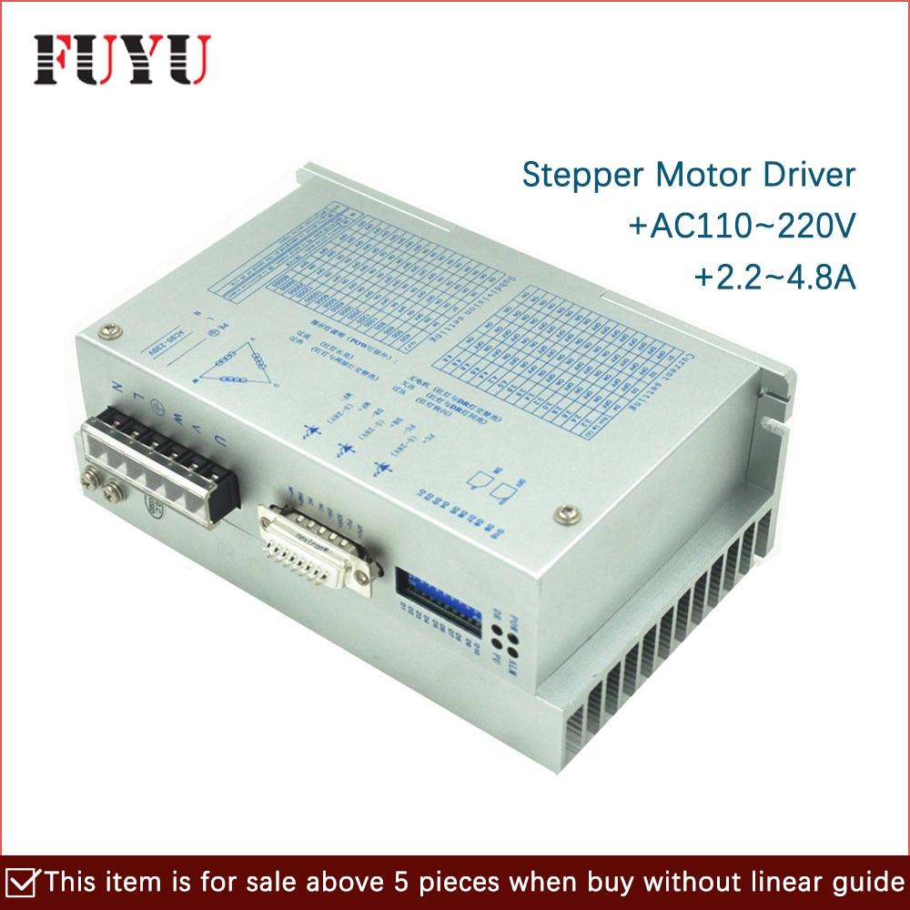 Nema34 3-fase driver de motor de passo para FLS80 FPLS80 e FLS120 FUYU linear motion guia