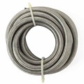 Universal AN6 Stainless Steel Hose End Oil Fuel Hose Double Braided Fuel Line Oil Cooler Adapter Kit 5M
