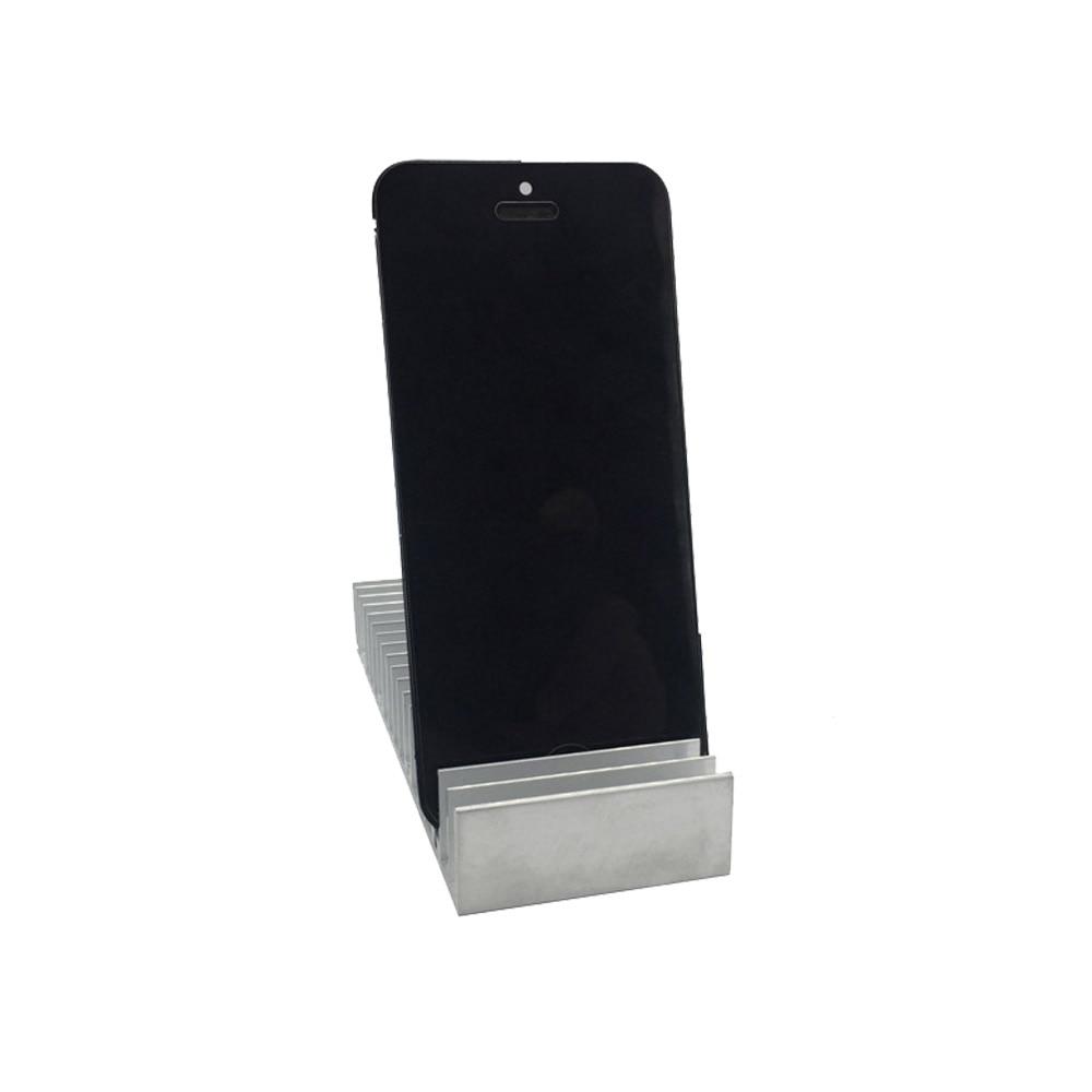 Slot per vassoio porta PCB in metallo LCD in alluminio per iPhone - Set di attrezzi - Fotografia 2