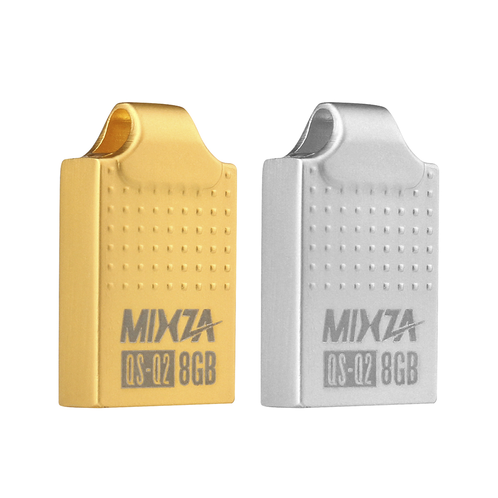 MIXZA QS-Q2 mini USB flash meghajtó USB Pendrive 4GB / 8GB / 16 GB / 32 GB / 64 GB-os flash meghajtó USB-meghajtó USB 2.0