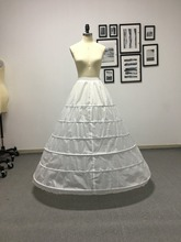 Fmogl Neue Ankunft 6 Hoop Petticoat Unterrock Für Ballkleid Hochzeit Kleid 2020 Unterwäsche Krinoline Hochzeit Zubehör Plus Größe