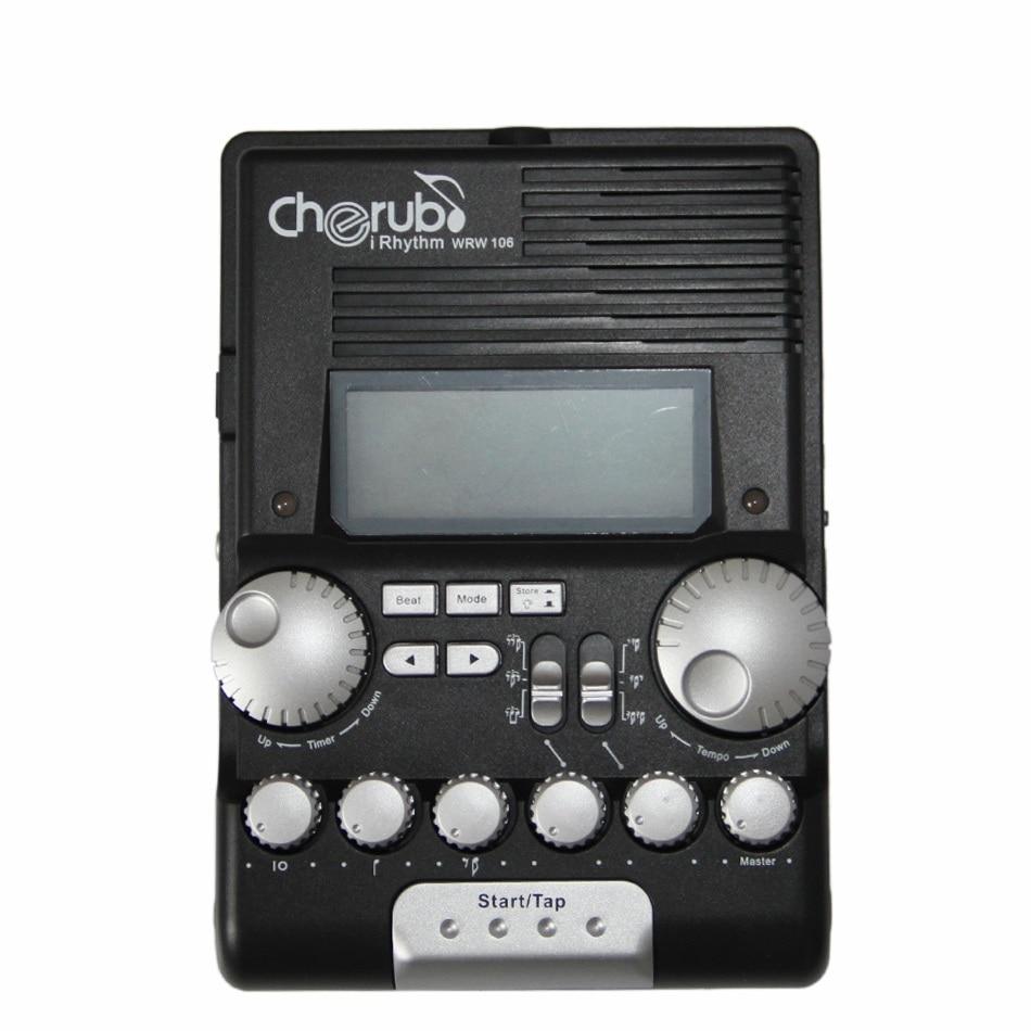Cherub WRW-106 Rhythm Trainer Drum Metronome cherub wrw 106 rhythm trainer drum metronome