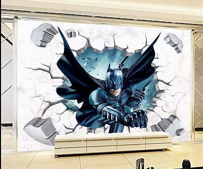 3d Througn Wand Batman Wandaufkleber Fur Kinder Kindergarten