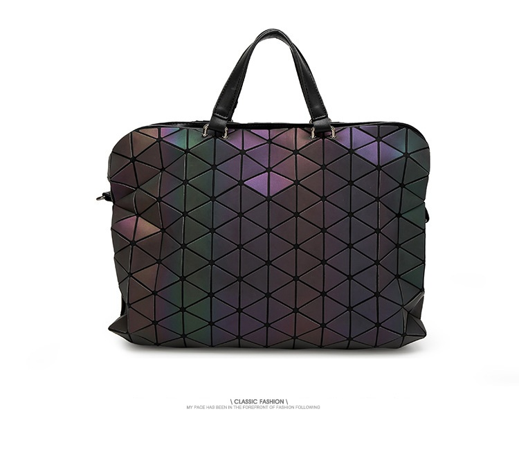 Maelove Luminous Bag 2019 De gama alta geométrica Lattic Diamond - Bolsos - foto 3
