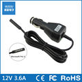 12V 3.6A car power adapter charger for Microsoft surface2 surface RT Surface PRO Tablet Manufacturers selling high quality