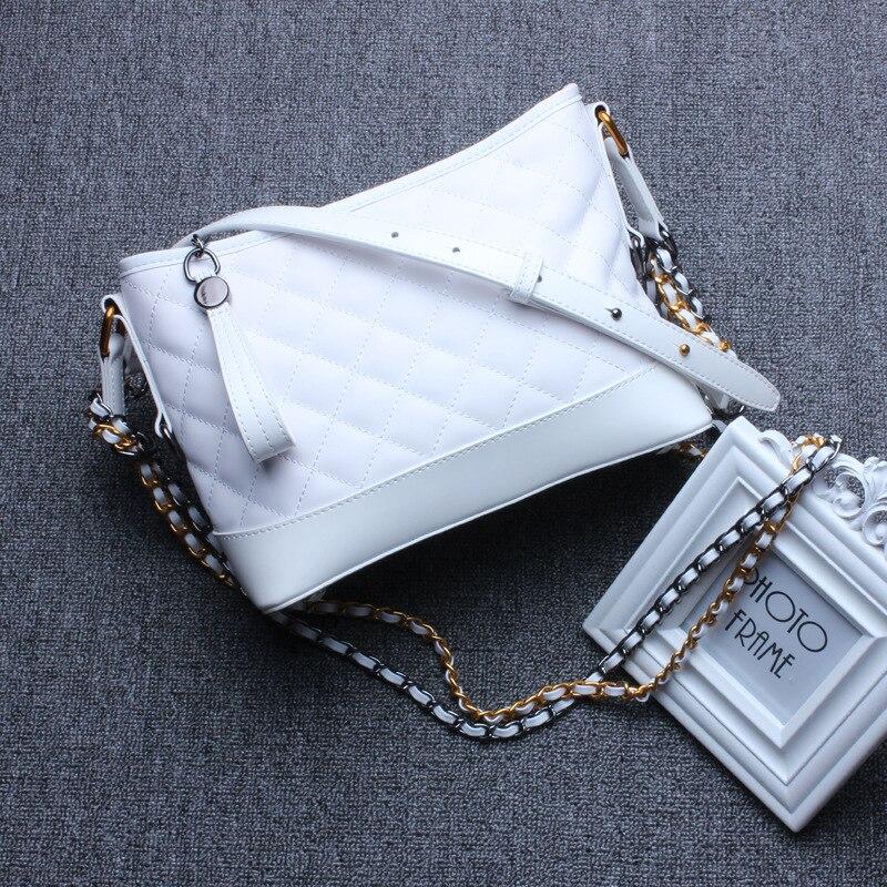 white Pure Femmes En Sac Femme Mode Luxe pure Bandoulière Cuir White À Bandoulière Marque 2018new Black Sacs Main Célèbre Supérieure De blue Qualité Véritable xgCaIUqw