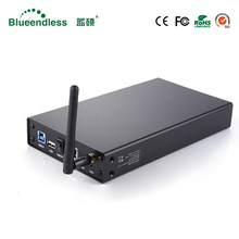 Wireless Black U35WF WiFi Repeater High Speed Wifi Router HD Externo Sata to USB 3.0 WiFi Extender HDD Caddy 3.5″ HDD Case 3.0