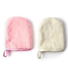 1PC Beauty Reusable Microfiber Facial Cloth Face Towel Makeup Remover Cleansing Glove Care Tool