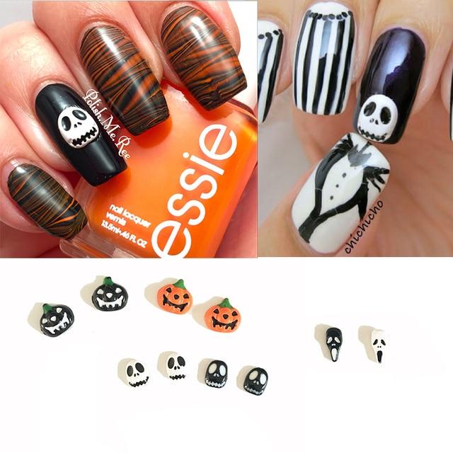 Aliexpress Buy Halloween Nail Art Design Pumpkin Halloween