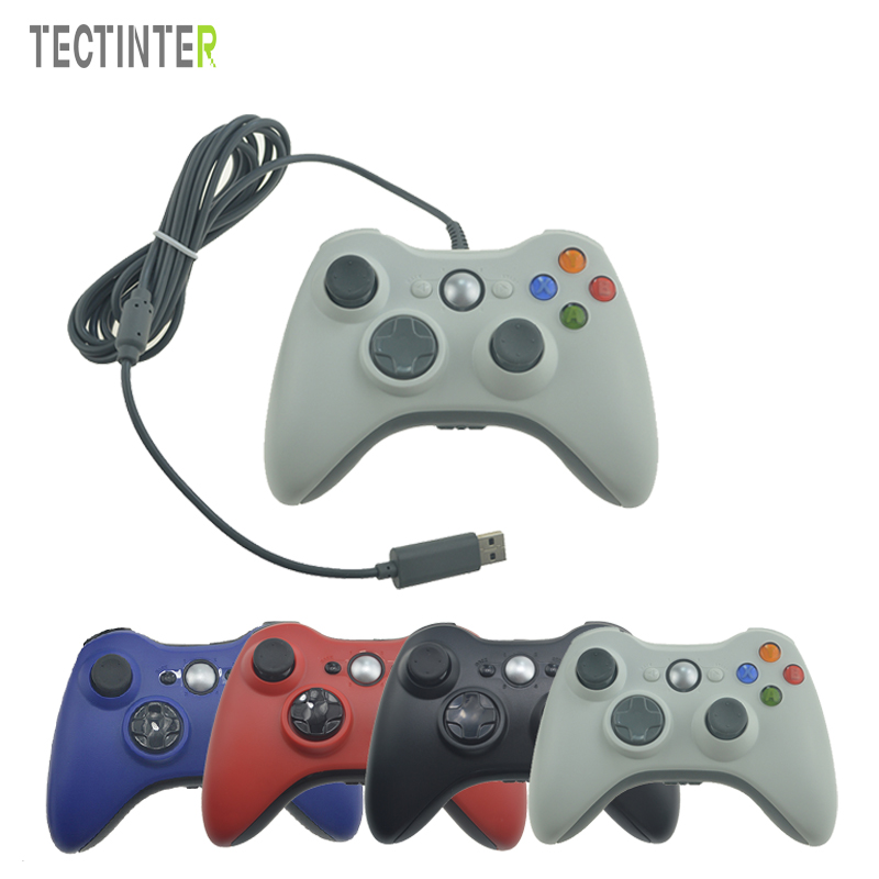 USB Wired Controller For Xbox 360 Game Accessories Gamepad ...