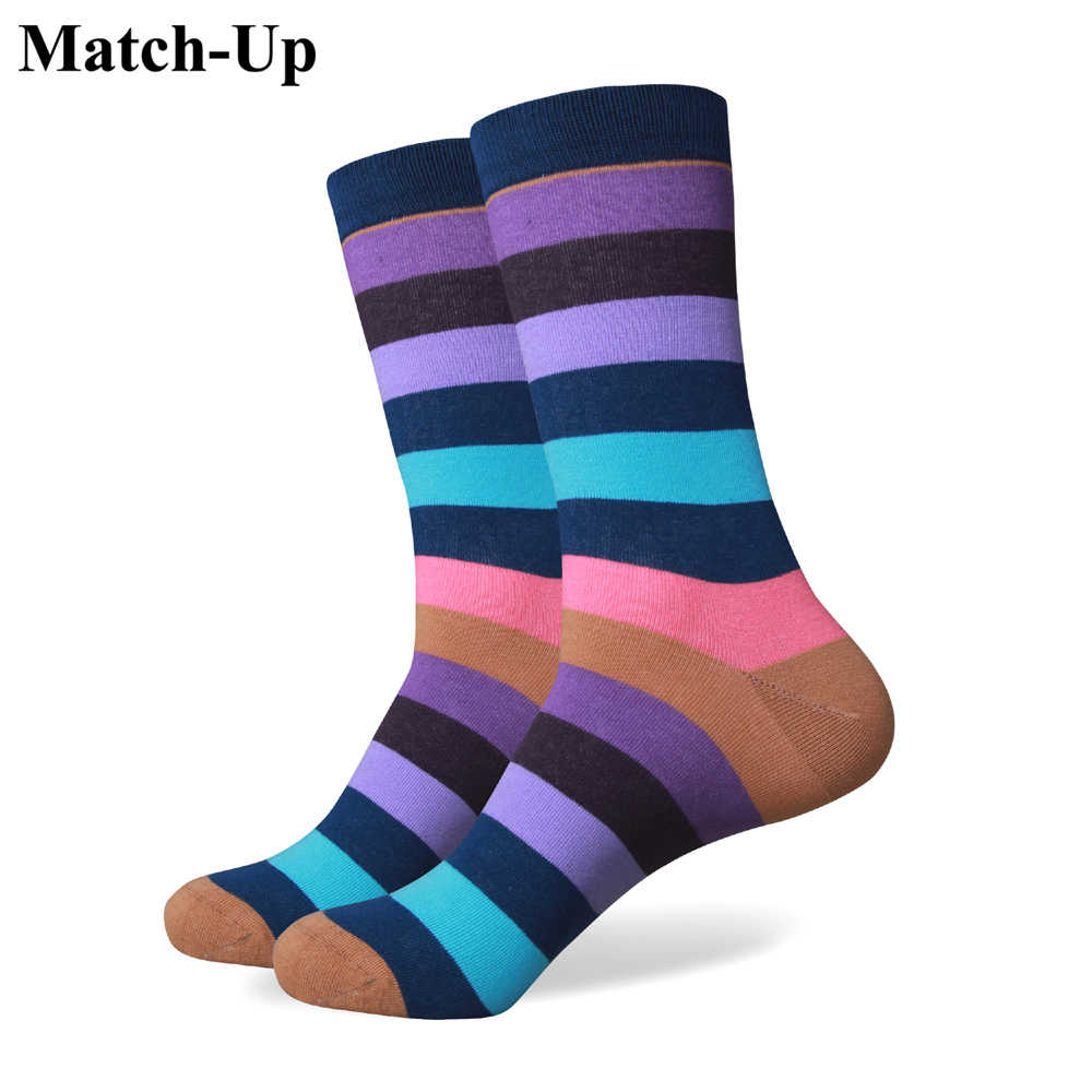 official shop presenting newest collection Match-Up collection all cotton men colorful socks brand man socks , men  sock , cotton sock Free Shipping