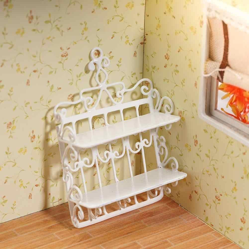 Rack Puppenhaus Dekoration Zubehör 1//12 Miniatur Waschbecken mit Wassertopf