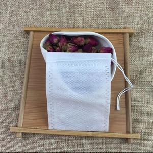 Image 4 - Чайные пакетики 500 шт 7x9 см пустые чайные пакетики с струнным фильтром для заваривания, деформация для свободного кофейного чая, одноразовые бумажные пакеты