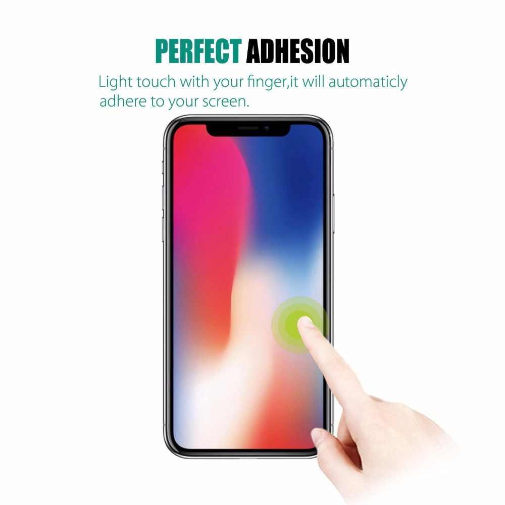 Szkło hartowane HD dla iphone 11 Pro 11 XS Max XR XS 6 6s 7 8 plus 5 5S SE 4 4S 9H folia zabezpieczająca ekran dla iphone 11 Pro Max X