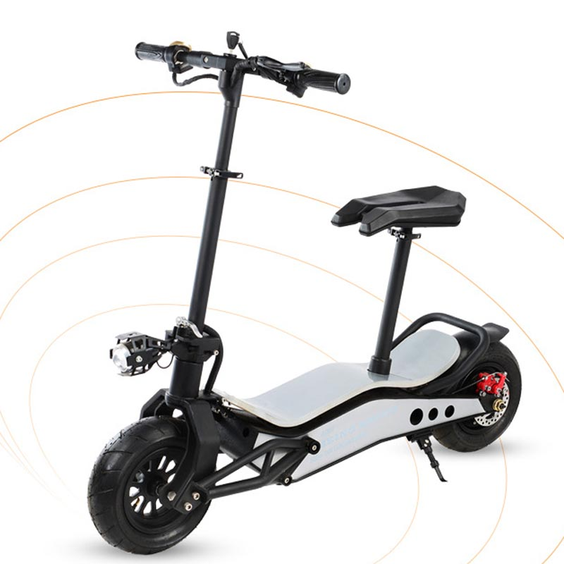 Mini scooter électrique tout-terrain de mobilité pliable 500 W