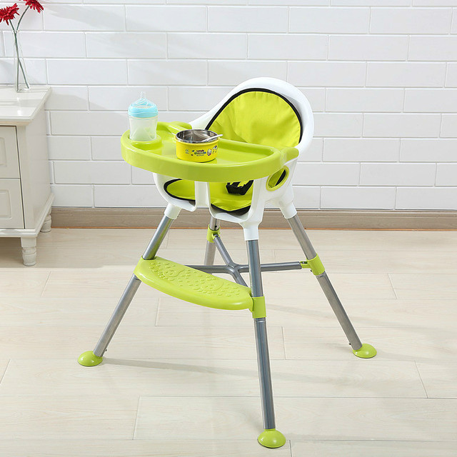 Multifunctional Baby Dining Chair Folding Portable Baby Feeding Chair Enlarge Baby High Chair Rocking Horse Types Baby Chair C01