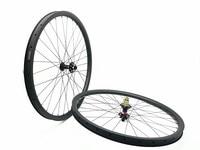 free shipping carbon mtb wheels 29er mtb wheelset MTB bike width 35mm Mountain bicycle tubeless wheel UD matte wheel QR 142 135