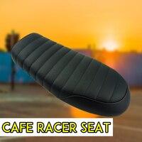 Motorcycle Cafe Racer Seat Scrambler Vintage Flat Saddle Flat pan Retro Seat For Honda CG CB200 CB350 CL350 CB400