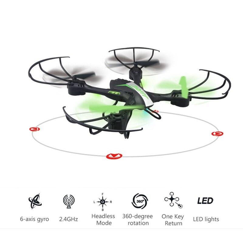 Jjrc H33 мини Drone RC Quadcopter 6 оси вертолета 4CH Квадрокоптер один ключ возврата drons Игрушечные лошадки для детей вертолет модель