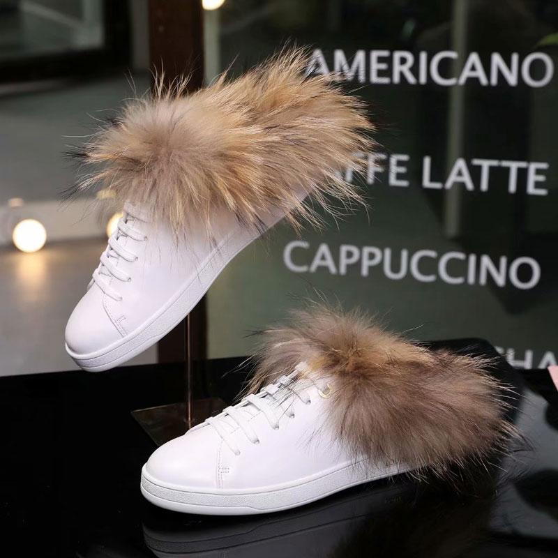 De Scarpe Pelliccia Moda As Bianche Tenis Nuovo up Ginnastica Feminino Zapatos Mujer Show Sapato Di Lace Ladeis Delle Cozy Da Hot Appartamenti Donne 5qgHtX