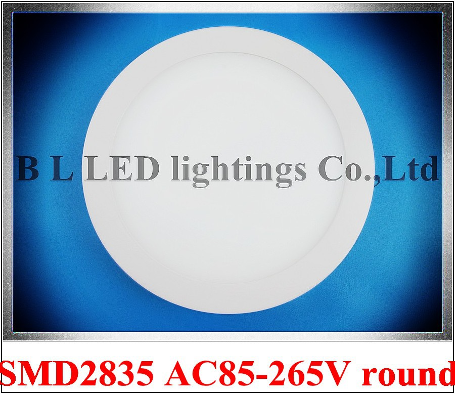 20 Stcke X LED Panel Lampe Flache Licht Runder Oberflchenmontage 6 Watt 12