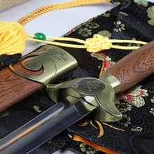 Stainless steel rosewood Tai Chi Sword for personal collection home decor GongFu Martial arts practice props
