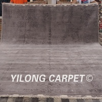 YILONG 10'x13.8' 100% wool handmade carpets professionally cleaned large are rug classic wool rugs (CQG54S10x13.8)
