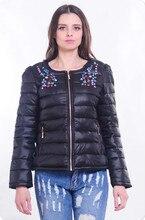 Горячие продажа 2017 новых женщин куртка, чтобы согреться в зимний период дамы моды случайные Тонкий мягкий зимняя куртка высокого качества Femme пальто