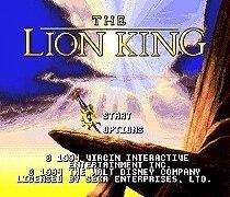 The Lion King - Sega Mega Drive For Genesis 1