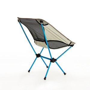 Image 3 - Assento portátil cadeira de pesca leve cinza acampamento fezes dobrável mobiliário ao ar livre jardim novo al portátil cadeiras ultra leves