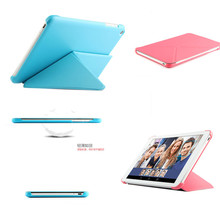 ultra thin pu leather Transformer Style Stand Case Cover For Huawei Honor X2  X1 Mediapad X2 7 inch phone bags cases