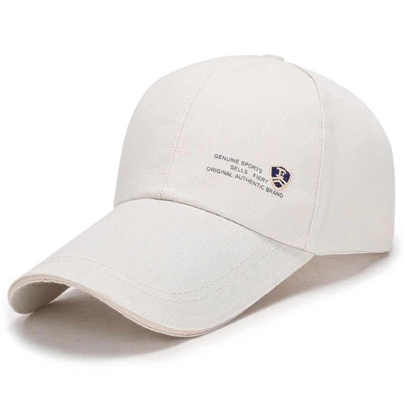 2019 חדש הגעה בייסבול כובע בד כותנה בד מתכוונן ארוך שולי כובע כובע חיצוני שמשיה שמש כובע Snapback כובע עבור גברים