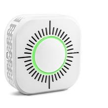 RF433 Smoke Sensor Detector Fire Alarm Security System Smart Smoke Sensor Works With RF Bridge 433