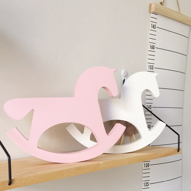 Wooden Nordic Style Horse Figurine