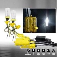 8pcs Car Ballast Set Quick Start Xenon Lamp Car Light Conversion Kit With Ballast Kit