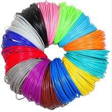 3d pen filament ABS 1.75mm 20 Colors 3D Printer Filament Materials (5M/color ,total 100M) For 3D Printing Pen 3D Printer