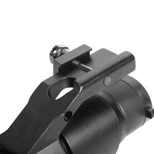 Image 5 - LUGER holografik kırmızı nokta görüşü M2 avcılık optik tüfek kapsam 20mm ray dağı ile kolimatör Sight hava tabancası avcılık