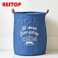 3545cm-cowboy-laundry-bag-cotton-linen-washing-laundry-basket-hamper-storage-dirty-clothing-bags-toy-storage-bag-res443